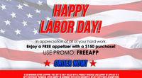 LobsterGram - Free Appetizer w/ $150+ Order