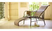 Martha Stewart Grand Bank Patio Reclining Lounge Chair