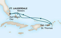 7-Nt Caribbean Cruise on Holland America w/Oceanview
