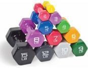 CAP Barbell Vinyl-Coated Dumbbell
