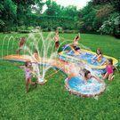 Banzai Aqua Drench 3-in-1 Inflatable Splash Park
