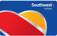 $100 Southwest Airlines Gift Card for $92