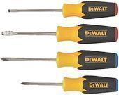 Dewalt DWHT62512 4pc Screwdriver Set