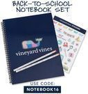 Vineyard Vines - Free Notebook Set with $200+ Order