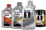 Mobil 5-Quart Motor Oil