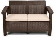 Keter Corfu Outdoor Loveseat