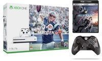 Xbox One S Madden NFL 17 Bundle + 4K DVD & Controller