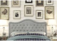 Adella Tufted Upholstered Headboard by Mulhouse Furniture