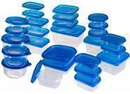 54-Piece Food Storage Container Set with Air Tight Lids