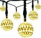 Kohree Solar 10 LED Globe Lanterns String Lights