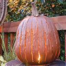 Great Pumpkin Lantern Decoration by Desert Steel