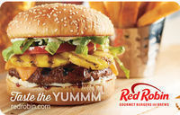 $50 Red Robin Gift Card - Email Delivery