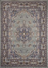 2x3-Foot Traditional Oriental Medallion Rug