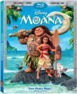 Moana (Blu-ray + DVD + Digital) Pre-Order + $5 Gift Card