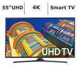 Samsung UN55KU6290 55 4K UHD Smart LED TV
