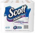 27 Rolls of Scott Tissue