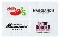 $100 Brinker Restaurants Gift Card