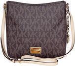 Michael Kors Jet Set Brown Large Messenger Bag