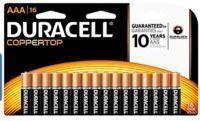 Duracell Coppertop Alkaline AAA Batteries