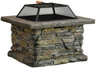 Purcell 18 Iron Wood Fire Pit