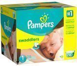 Pampers Swaddlers Diapers - Size 1 (216 Ct)