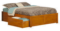 Mackenzie Storage Platform Bed