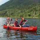 Lifetime Kodiak 13-Foot Canoe with Two Paddles