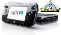 Black Wii U 32GB Deluxe + Nintendo Land (Refurb)