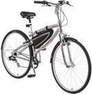 Schwinn Skyliner 700c Hybrid Bike w/ Lights & Bar Bag
