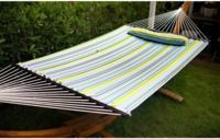 Merax Hammock with Pillow - Multicolored Stripe