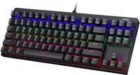 AUKEY 87-Key Mechanical Keyboard w/ Blue Switches,