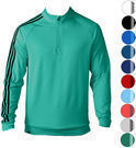 Adidas Golf 3 Stripes 1/4 Zip Pullover TM4252S6 (6 Colors)
