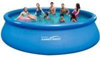 Summer Waves 16-Foot x 48 Pool w/ Deluxe Accessory Set