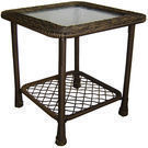 Garden Treasures Severson Wicker End Table