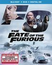 The Fate Of The Furious Blu-ray + DVD + Digital HD