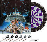 Star Wars Empire Strikes Back Bristle Dartboard w/ Cabinet