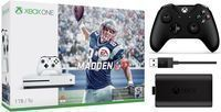 Xbox One S 1TB Madden Bundle + Controller + Play & Charge