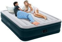 Intex 16 Elevated Queen Airbed w/ Built-In Electric Pump