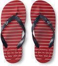 Aeropostale Men's Prince & Fox Striped Flip Flop (2 Colors)