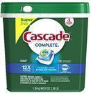Cascade Complete ActionPacs Dishwasher Detergent 78-Count