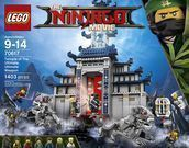 Lego Ninjago Temple Ultimate Ultimate Weapon Building Kit