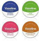 4 Pack of Vaseline Lip Therapy Tins