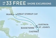 The Caribbean: 10-Nt All-Inclusive Luxury Cruise from Miami