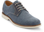 G.H. Bass & Co. Men's Navy Proctor Canvas Oxford Shoes