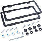 L-Fine Aluminum Alloy Slim Bottom License Plate Frame