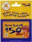 $50 Build-A-Bear Gift Card - Lightning Deal)