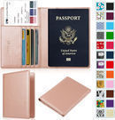 Premium PU Leather Travel Passport Holder