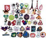 100 Disney Trading Pins (Random)