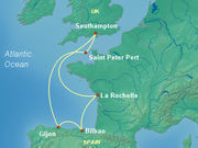 Upscale Europe Cruises on Cunard