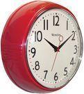 Westclox Retro 1950 Kitchen Wall Clock